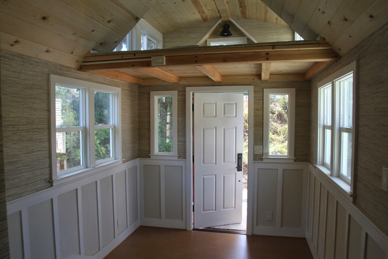 Tiny house town craftsman bungalow from molecule tiny homes - What is a bungalow house ...