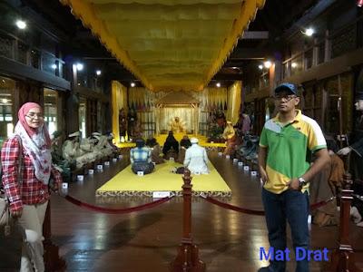 Tempat Bersejarah Melaka Muzium Istana Kesultanan Melaka