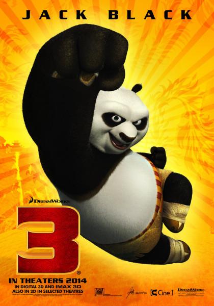 Kung Fu Panda 3 กังฟูแพนด้า 3 [HD]