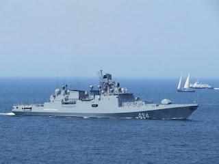 Kapal Perang Rusia Admiral Grigorovich RFS-494