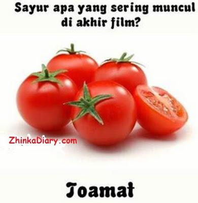 Tebak-tebakan buah tomat