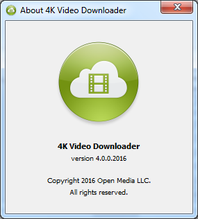 4k Video Downloader 4.2 Serial Key