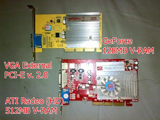 Pengenalan Hardware - VGA Eksternal pada PC Desktop (Komputer)