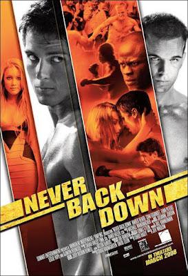 Never Back Down 2008 DVD R1 NTSC Latino