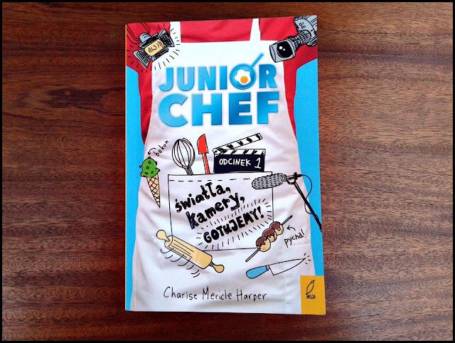 nowość wydawnicza, dla dzieci, książka, Junior Chef, Wydawnictwo Wilga