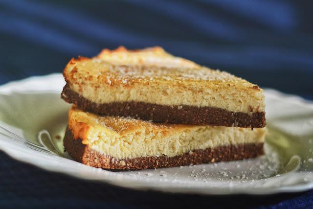 kokosowy cheesecake