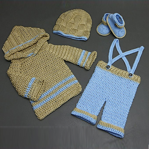 Baby Knickers with Suspenders - Free Pattern