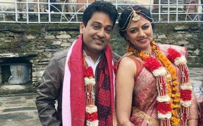 kavita-kaushik-Ronnit-wedding