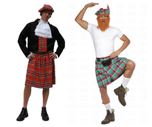 840dcad002cea4 Schots kostuum met Schotse kilt