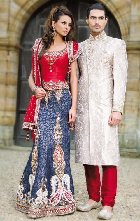 pakaian tradisional india lelaki dan perempuan