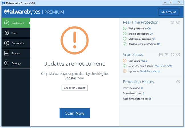 Malwarebytes Premium v3.2.2.2018 Final Multilenguaje Español Full Crack