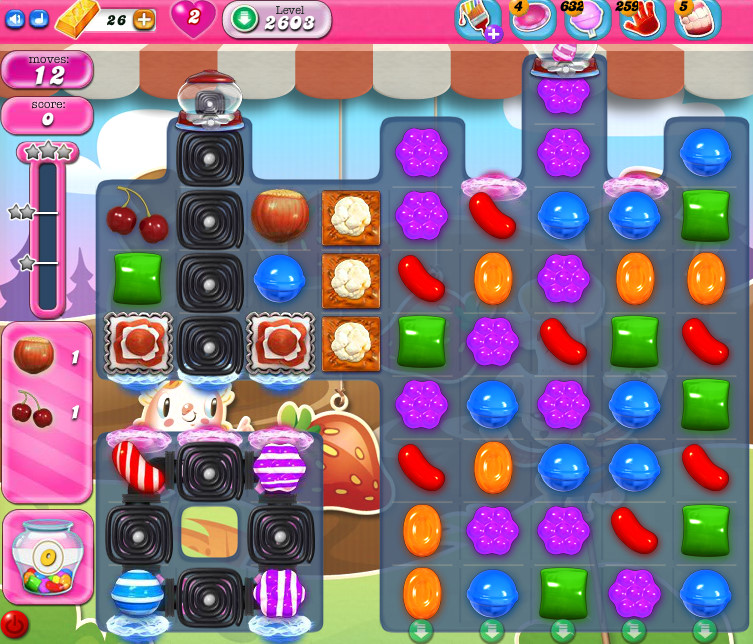 Candy Crush Saga level 2602