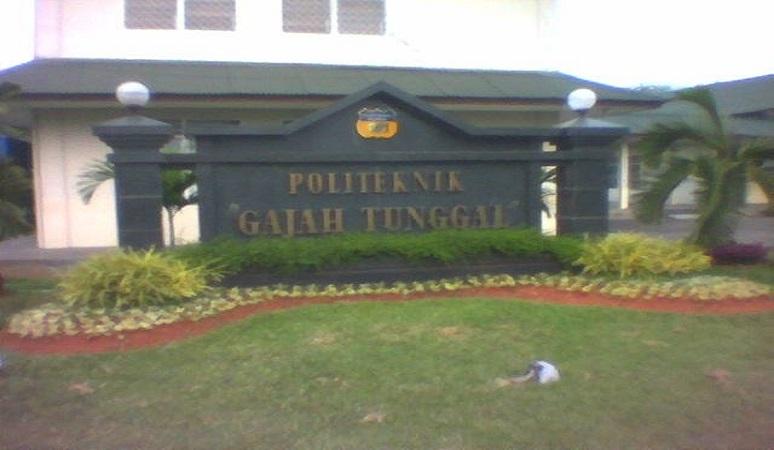 PENERIMAAN MAHASISWA BARU (POLTEK-GT) POLITEKNIK GAJAH TUNGGAL