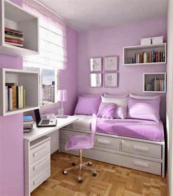 9 Model Ruang Kerja dalam Kamar Tidur yang Nyaman ...