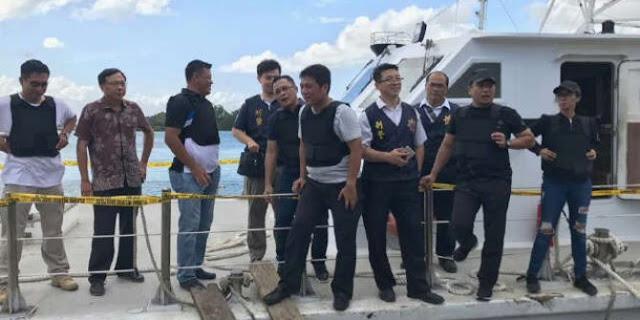 Transporter 1 Ton Sabu Padamkan GPS Kapal Wanderlust dari Taiwan