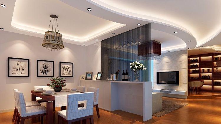 25 LED indirect lighting ideas for false ceiling designs