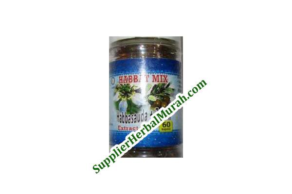 Extract Oil Habbasauda + Zaitun isi 60 Kapsul