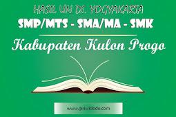 HASIL UN SMK Kabupaten Kulon Progo Tahun 2015 – 2017