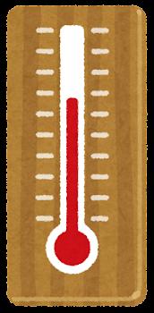 いろいろな温度の温度計のイラスト4
