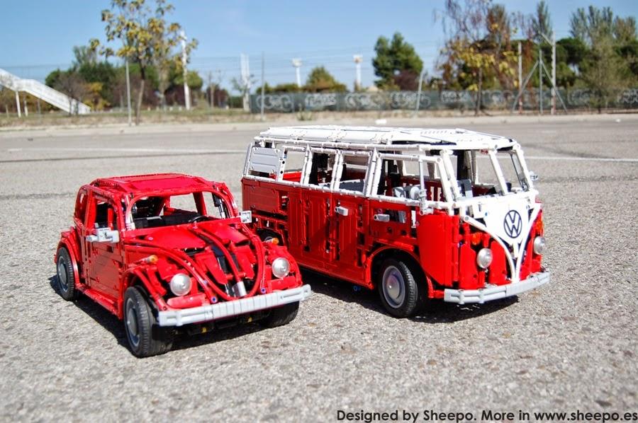 volkswagen type 2 t1 bus lego technic mindstorms. Black Bedroom Furniture Sets. Home Design Ideas