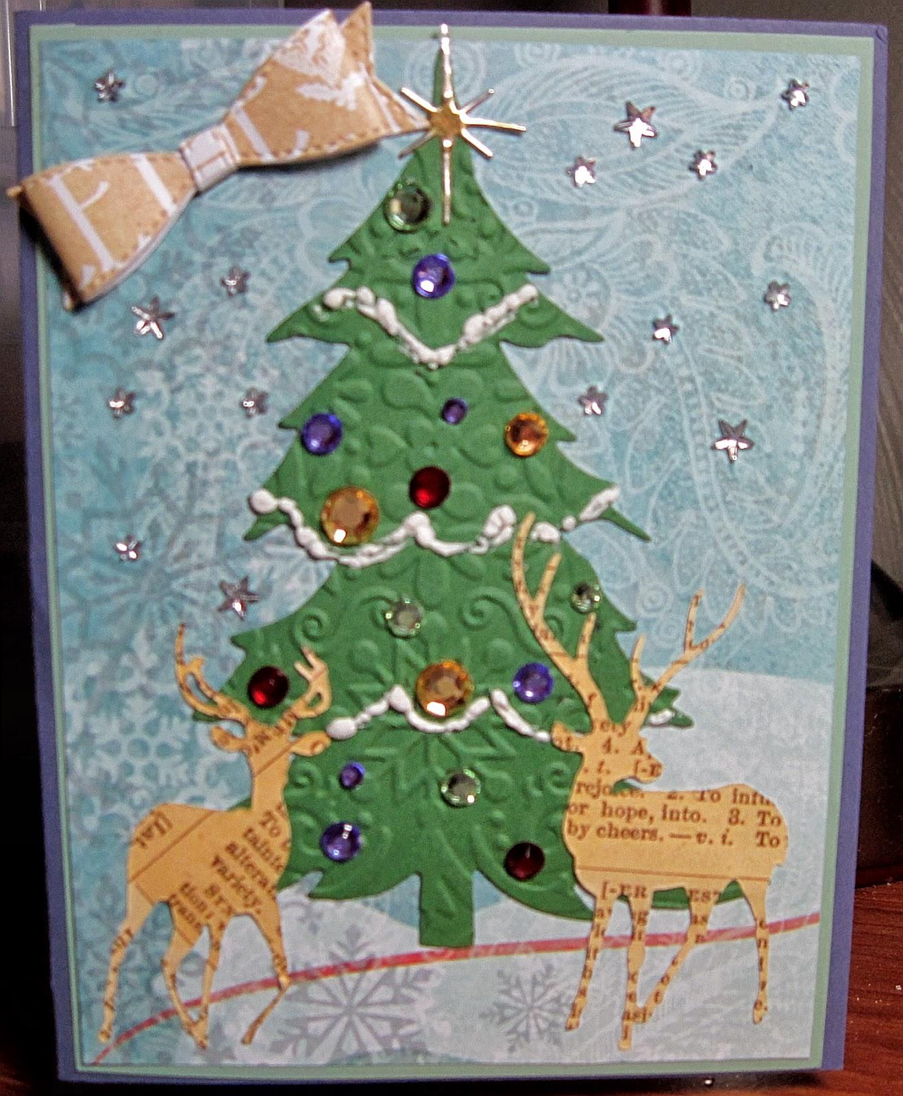 VILLAGE STAMPER RAMBLINGS: CCEE1350, Christmas Trees