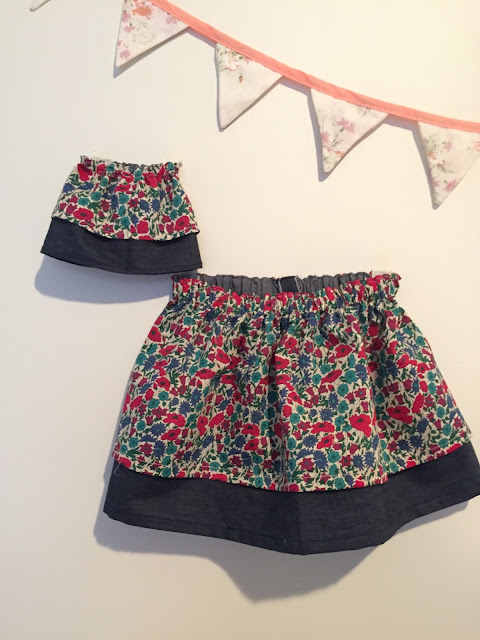 Skirt for V and her doll