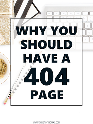 Why You Should Have a 404 Page
