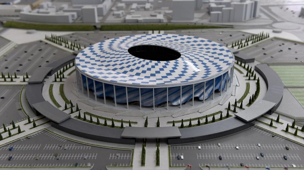 Nizhny Novgorod - Estádio de Nizhny Novgorod - 45.331