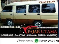 Jadwal Travel Fajar Utama Semarang - Pare PP