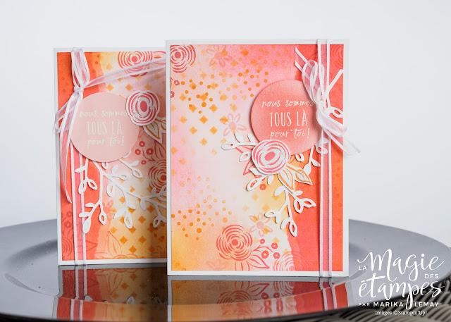 Créez votre papier design maison avec vos produits Stampin' Up!