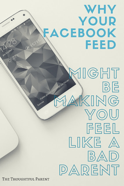 Why Your Facebook Feed Might be Making You Feel Like a Bad Parent