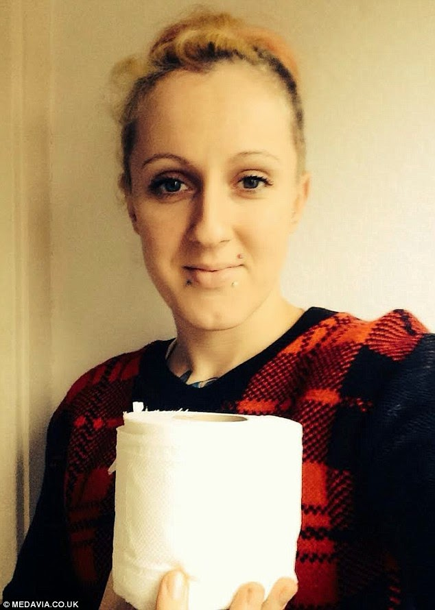 Woman Eats An Entire Toilet Roll A Day Due To Craving