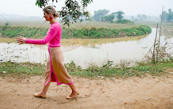 Queen Maxima visits Bangladesh - 2nd Day | Newmyroyals & Hollywood