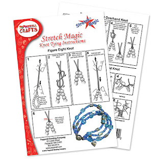 FREE Download: How to tie/finish your Stretch Magic jewelry creation.