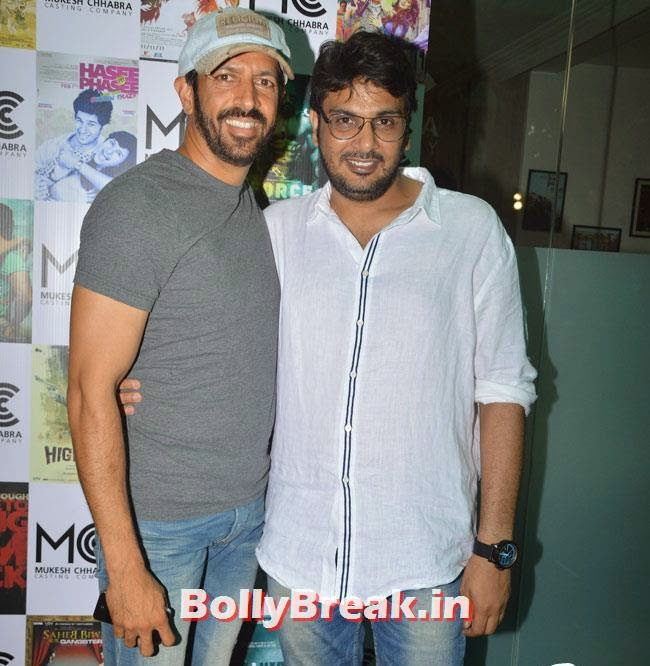 Kabir Khan and Mukesh Chhabra, Shradha  & Aditi at Mukesh Chhabra Casting Studio Launch