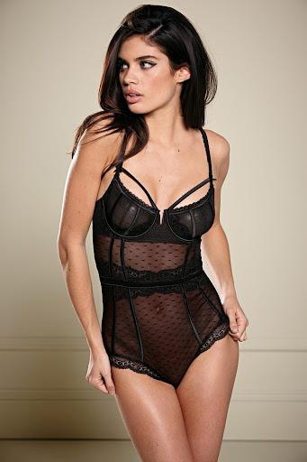 sara sampaio hot poses photo shoot for next sexy lingerie models