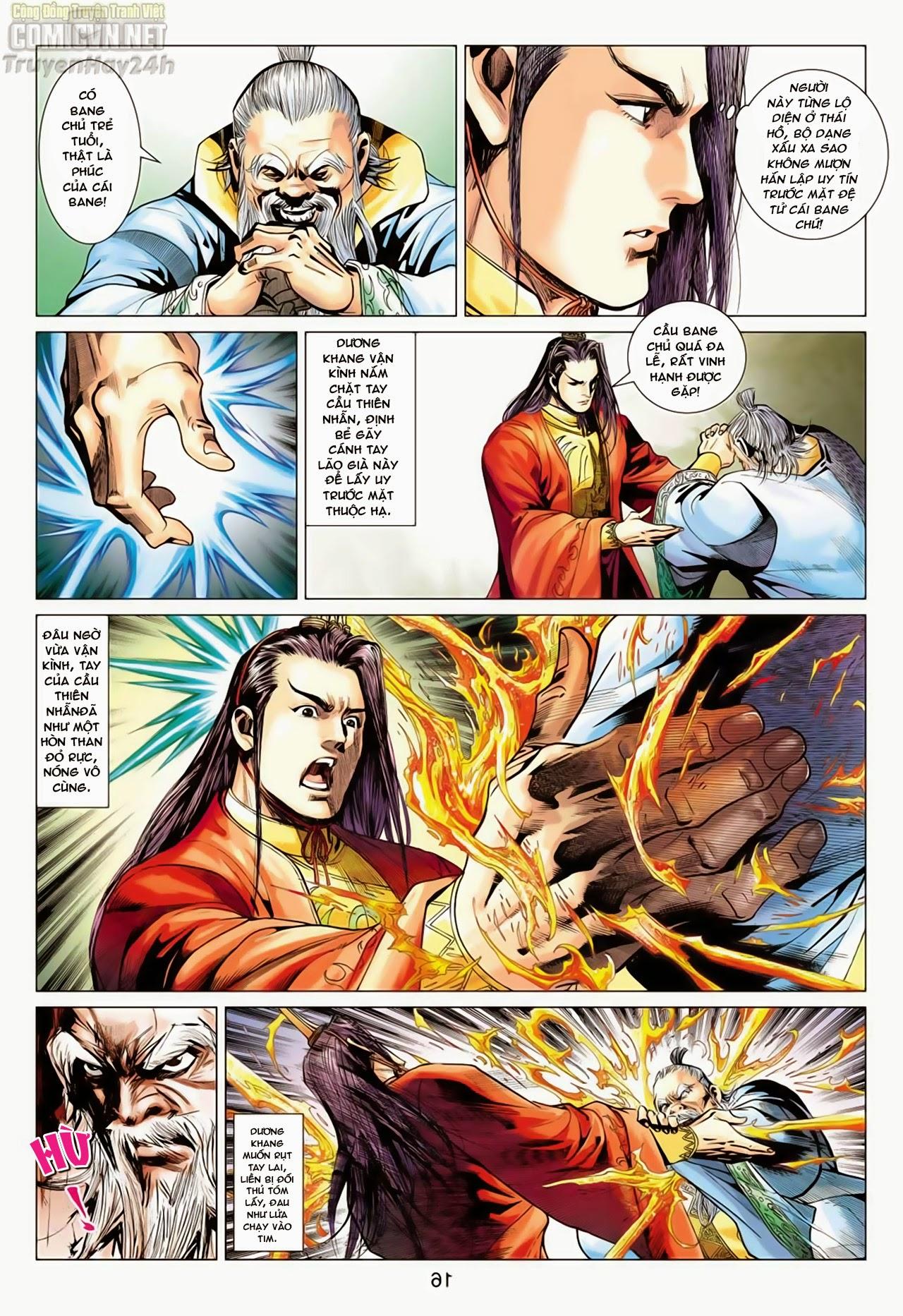 Anh Hùng Xạ Điêu anh hùng xạ đêu chap 66: nhạc châu đại hội trang 16