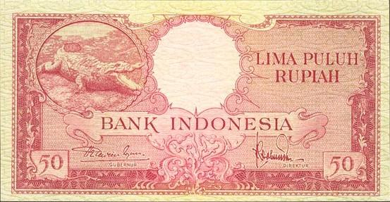Rp50 tahun 1957