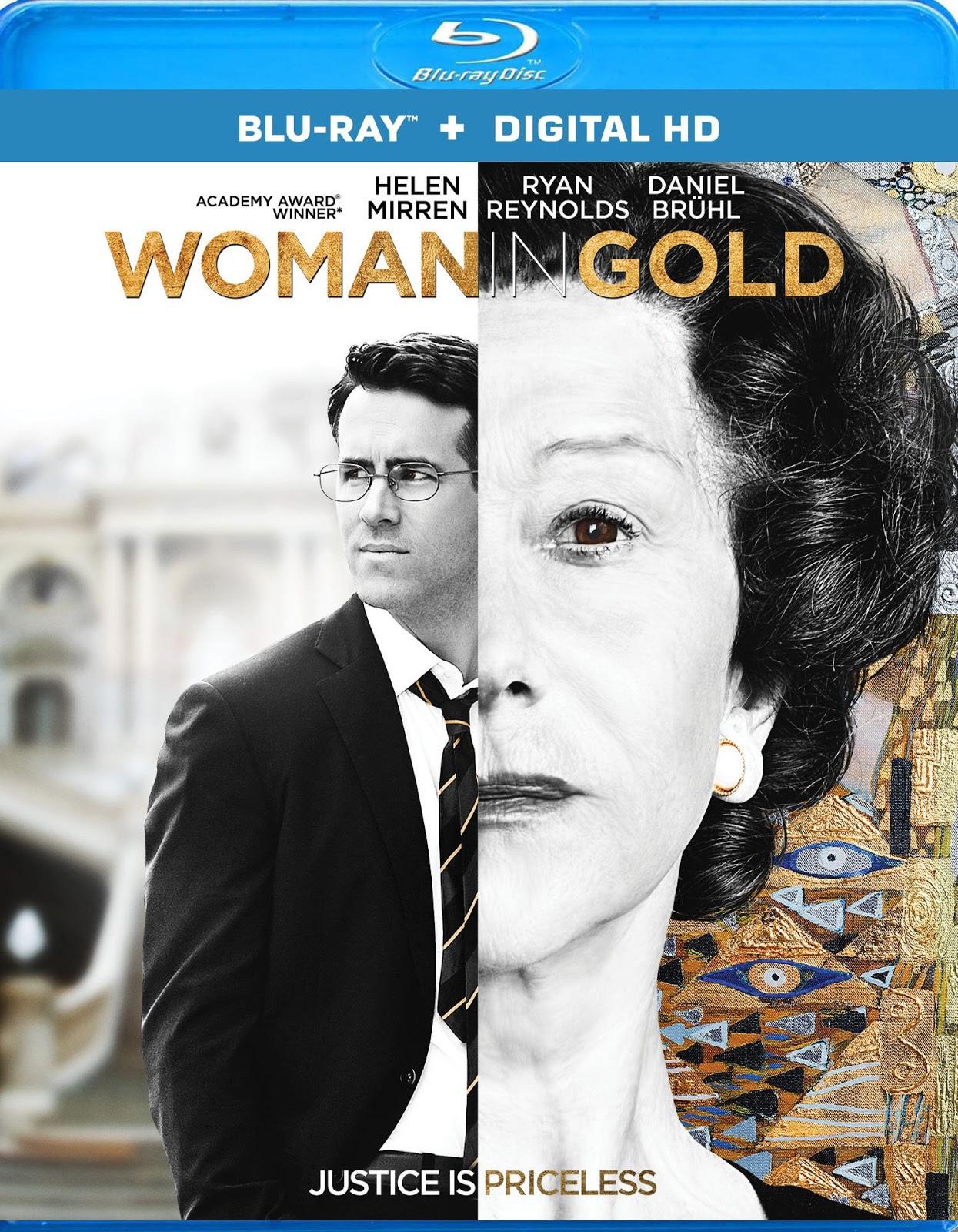 La Dama De Oro (2015) 1080p BD25 Cover Caratula Blu-ray