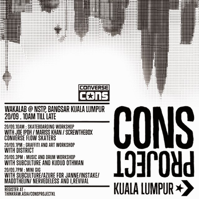 Converse Brings the CONS Project to Kuala Lumpur