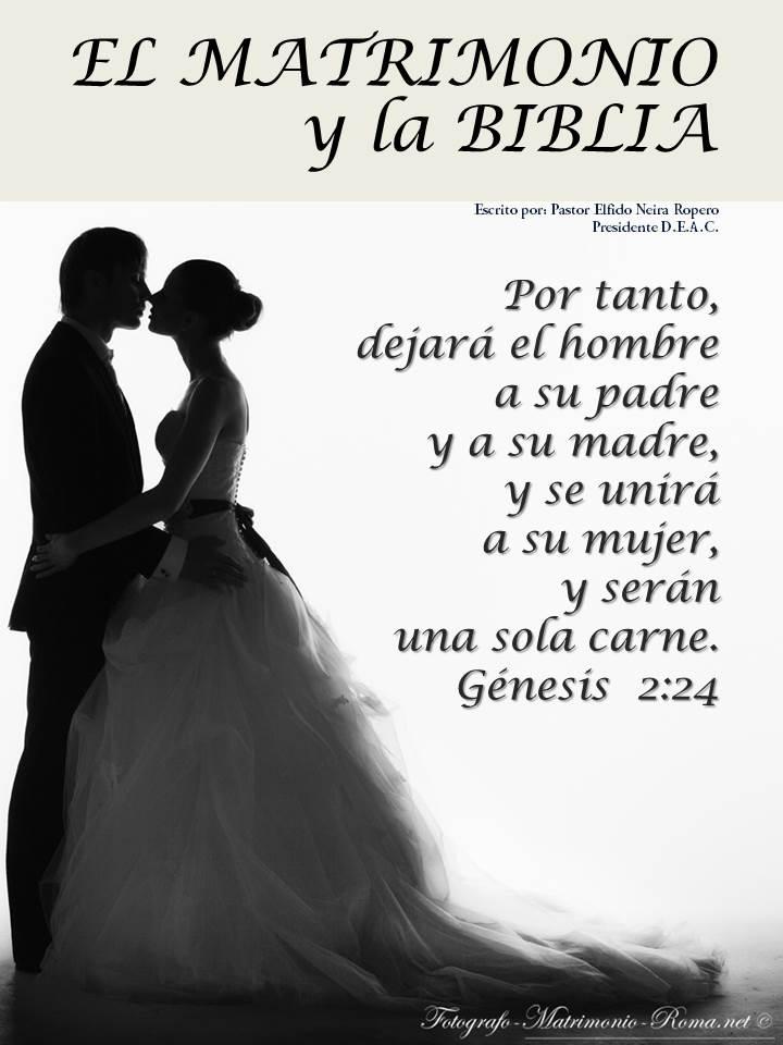 El Matrimonio La Biblia : Quot prevenir revista doctrinal el matrimonio y la biblia