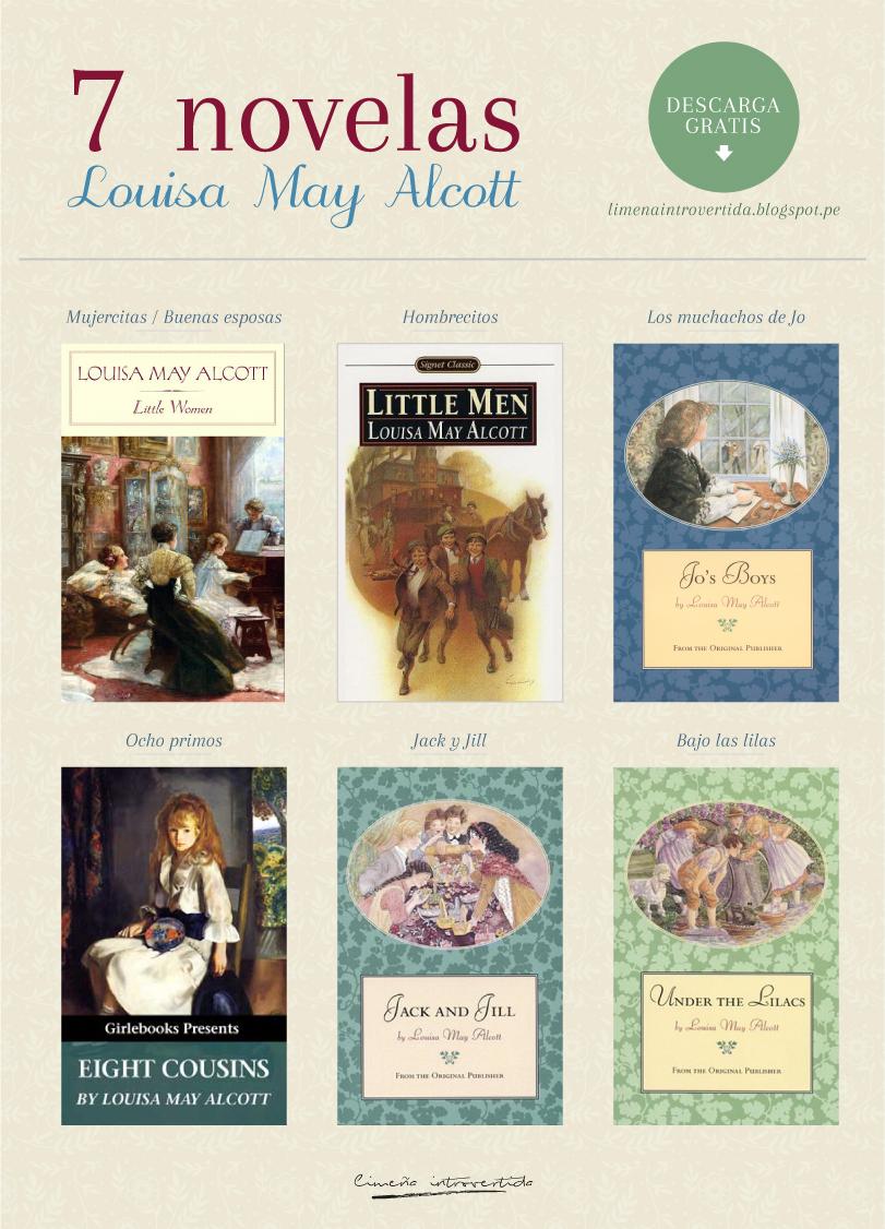 Libros de Louisa M. Alcott para descargar gratis