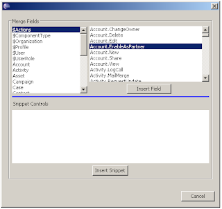 Quick Tips: Merge fields in Visualforce: Insert actions