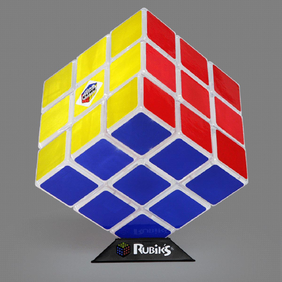 Une lampe en forme de Rubik's Cube