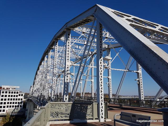 Nashville: Ponte de pedestres John Seigenthaler
