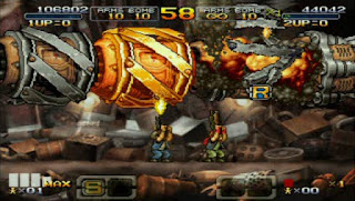 Metal Slug Double X PPSSPP Highly Compressed