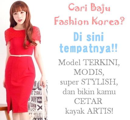 toko online baju fashion Korea impor