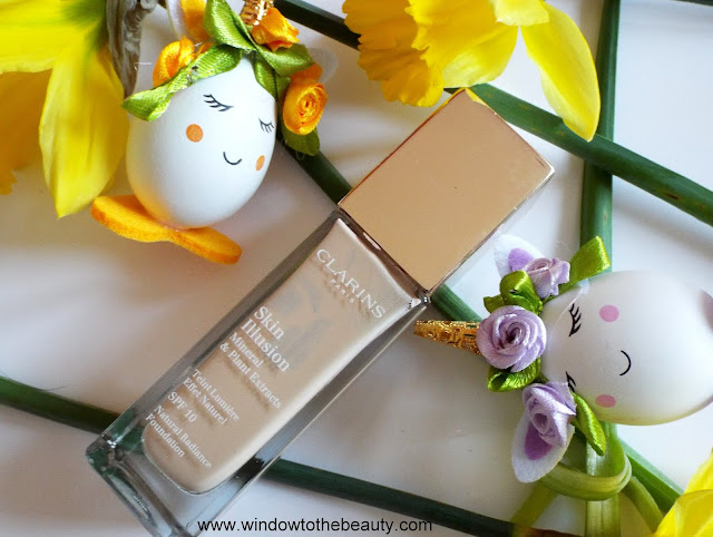Clarins Skin Illusion Foundation review shades swatches