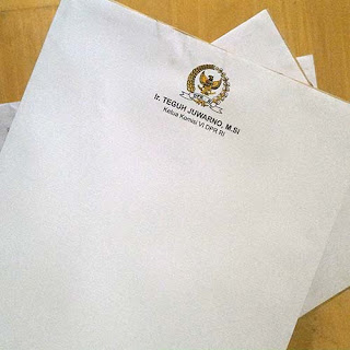 cetak kop surat logo embos