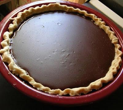 Grandma'S Chocolate Pie